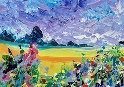 Summer Glory II by Duncan MacGregor -  sized 17x12 inches. Available from Whitewall Galleries